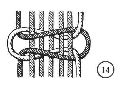 Рис. 14. Общий квадратный узел - 2Х5