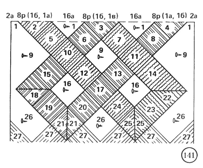 Схема плетения салфетки '