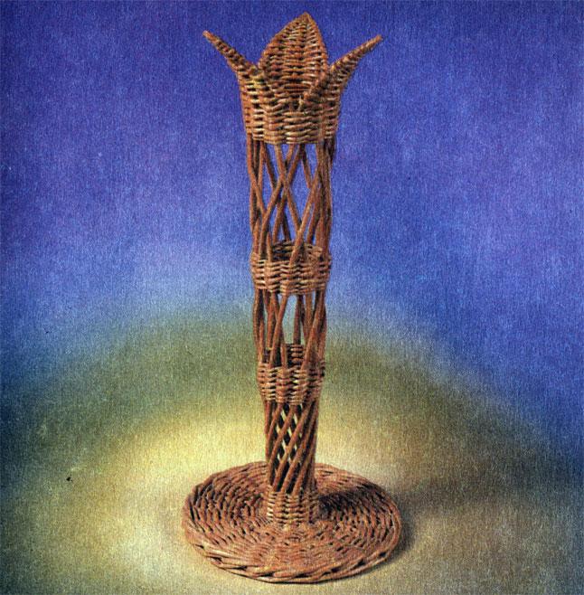 Мини-вазочка 'К 8 Марта'. Работа Ф. Ф. Шичкина