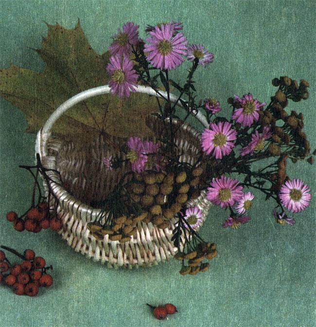 Корзиночка для цветочных композиций. Автор В. В. Логинов