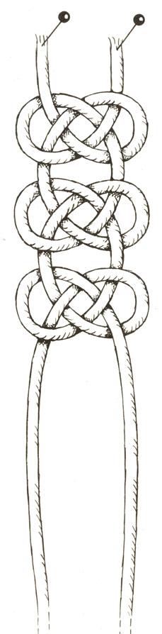 Цепочка из узлов 'жозефина'